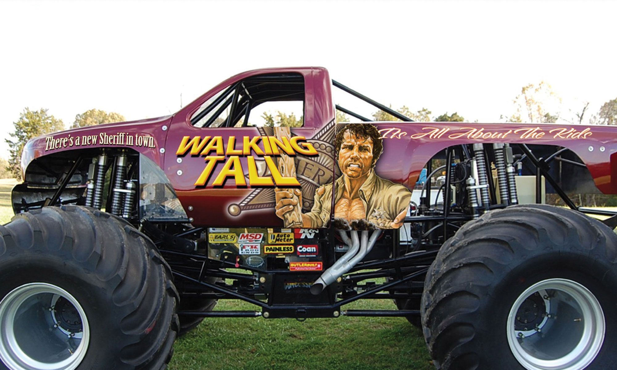Walking Tall Monster Truck